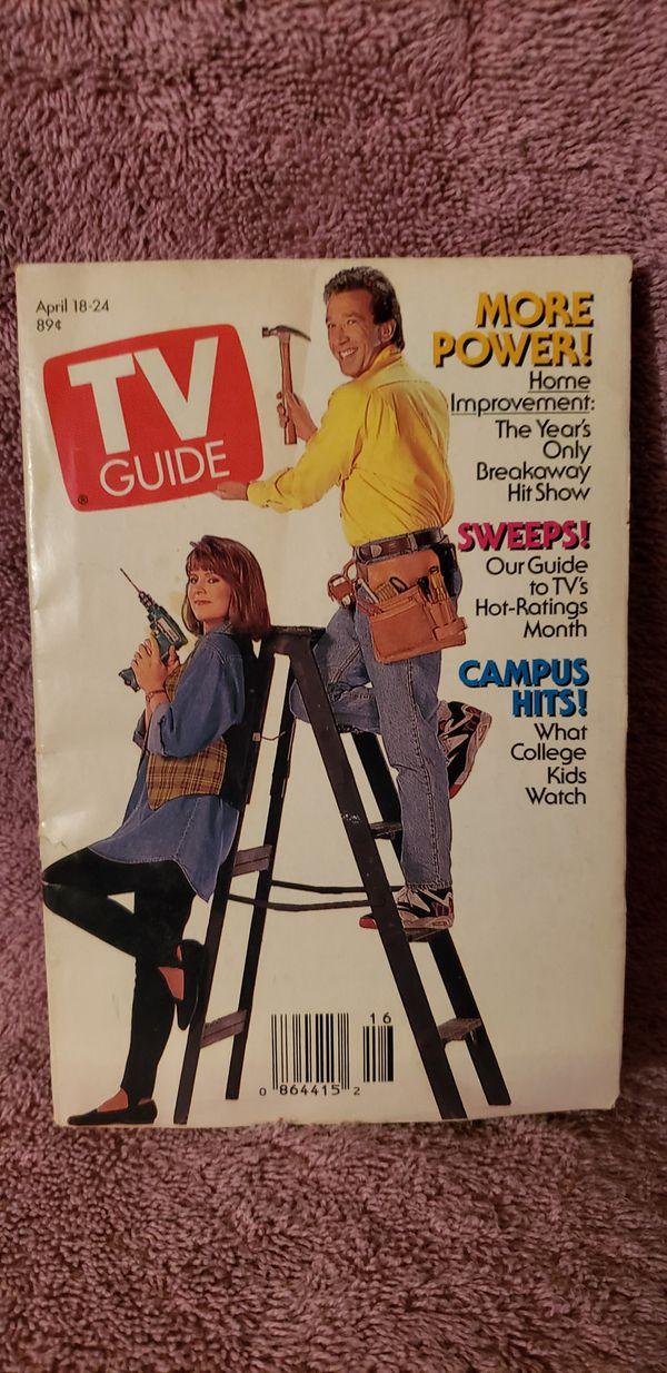TV GUIDE Home Improvement 1992