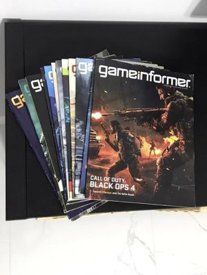Game Informer Magazine Collection for Sale in FL, US