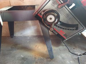 Craftsman cast iron table saw with stand for Sale in BRECKNRDG HLS, MO