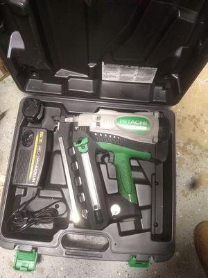 Hitachi cordless framing gun for Sale in Woodstock, GA