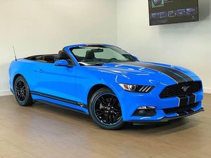 2017 FORD MUSTANG ECOBOOST PREMIUM 2dr CONVERTIBLE FINANCING AVAILABLE for Sale in Houston, TX