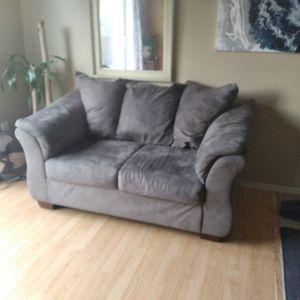 Gray Loveseat for Sale in Hillsboro, OR