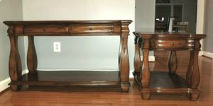 A set of console & side table in mahogany finish for Sale in Woodstock, MD