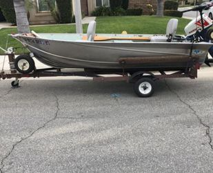 Aluminum Boat for Sale in Rancho Cucamonga,  CA