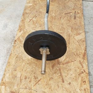 Weights And Curl Bar for Sale in San Bernardino, CA