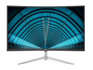 "AOC C32V1Q 31.5"" Full HD 1920x1080 Monitor, Curved VA Panel, 4ms 75hz, Frameless, HDMI/DisplayPort/VGA for Sale in Edison, NJ"