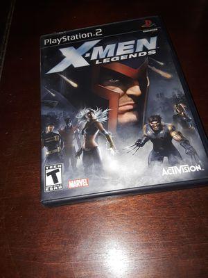 X-Men Legends (Ps2) for Sale in Desert Hot Springs, CA