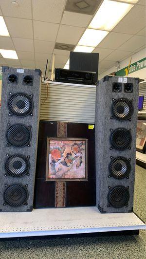 Sony receiver Andre Polk audio tower speakers for Sale in Longwood, FL