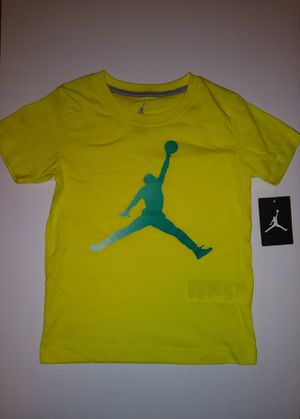 Kids Air Jordan Tee Shirt Size 7 Brand New With Tags $10 for Sale in Cleveland, OH