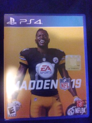 Madden 19 ps4 for Sale in San Francisco, CA