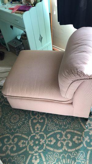 Pale pink comfy antique chair for Sale in San Luis Obispo, CA