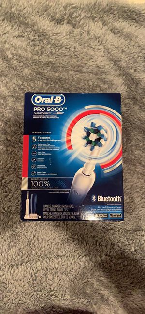 Oral B Pro 5000 SmartSeries with Bluetooth for Sale in Cleveland, TN