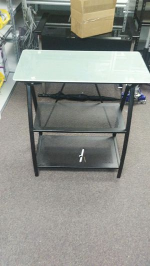 Glass Top Desk & Glass Top Shelf for Sale in Fort Walton Beach, FL