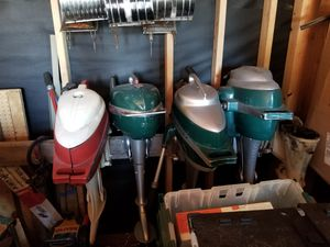 Out board boat motors n parts for Sale in Kent, WA
