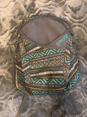 DAKINE backpack super cute teal grey excellent condition for Sale in Lynnwood, WA