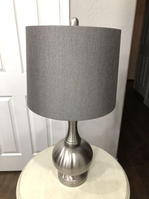 Gray Lamp for Sale in Mesa, AZ