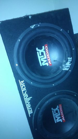 MTX audio 12 in box for Sale in West Palm Beach, FL