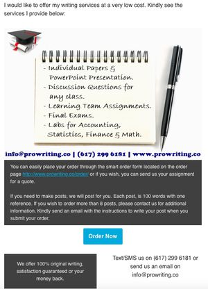 Essays, Presentations, Online Exams for Sale in Birmingham, AL