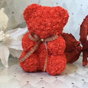 Foam Christmas Rose Bear Handmade By Me for Sale in McClellan Park, CA