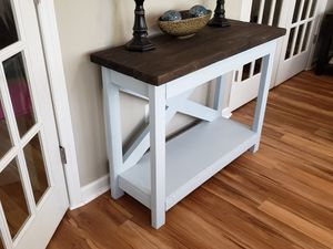 Handcrafted wooden table for Sale in Sanford, NC