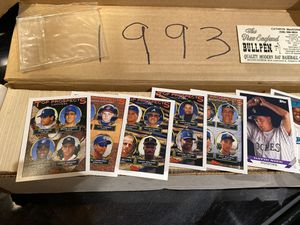 *** TOPPS BASEBALL CARDS 1993 & 1994 COMPLETE SETS COLLECTION !! for Sale in Spring Hill, FL
