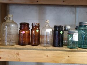 Antique plates bottles and jars for Sale in Boiling Springs, SC
