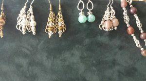 Sterling silver earrings and bracelet s for Sale in Salt Lake City, UT