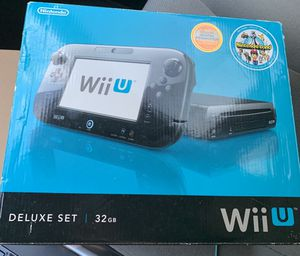 WiiU Deluxe Set 32G for Sale in Irving, TX