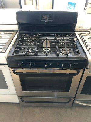 Kenmore five burner gas stove used for Sale in Corona, CA