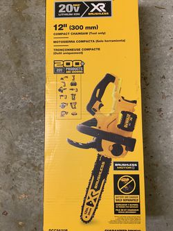 "Dewalt 20v XR 12"" Chainsaw Tool Only for Sale in Fort Myers,  FL"