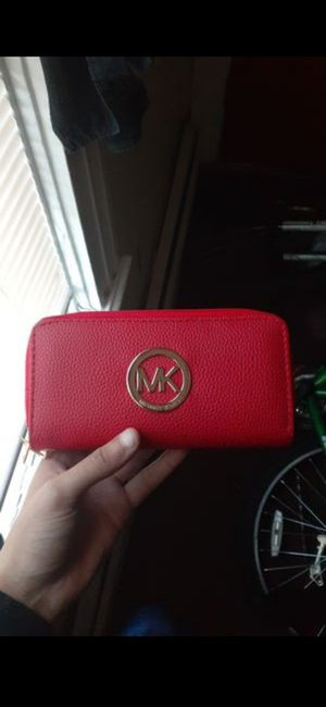 Mk red wallet band new for Sale in Central Falls, RI