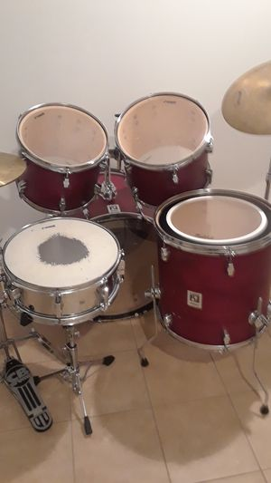 5pc SONOR drum set w/cymbals for Sale in Clinton, MD