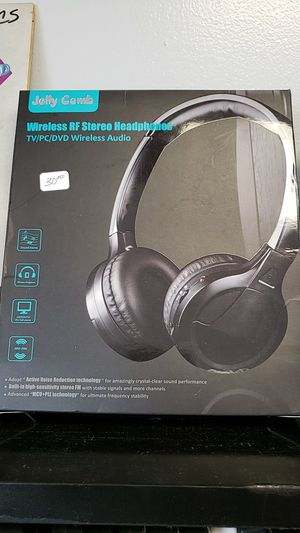New jelly comb wireless head phones for Sale in Newark, OH