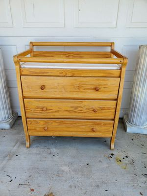 Beautiful wooden changing table for Sale in San Diego, CA