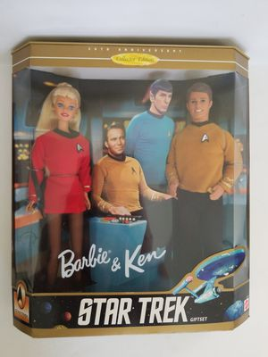Star Trek Barbie and Ken Giftset 1996 Mattel #15006. Collector edition for Sale in St. Petersburg, FL
