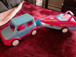 Barbie Jeep Set for Sale in Kalamazoo, MI