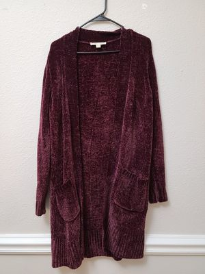 Michael Kors velvet cardigan for Sale in Columbia, MD