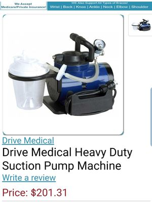 Heavy Duty Suction Pump for Sale in San Bernardino, CA