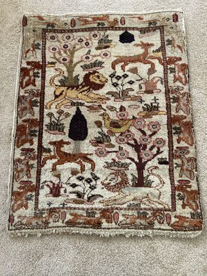 "Very old handmade and historical Persian rug .28""x 22"". It can also be used as a wall photo. for Sale in Irvine, CA"