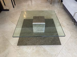 Authentic Carrara Marble Coffee Table for Sale in Miami, FL