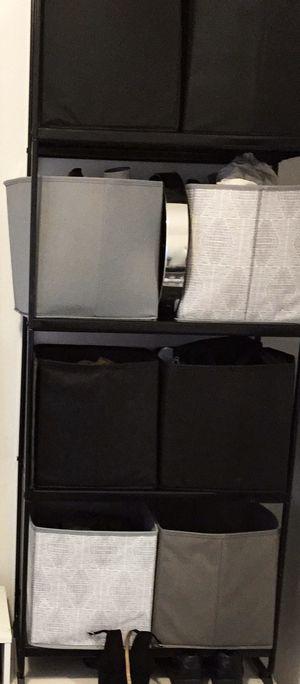 Black Metal Cabinet | $40 for Sale in Orlando, FL