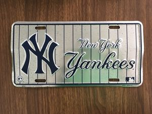 New York Yankees MLB License Plate car truck tag baseball for Sale in New York, NY