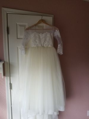 Flower girl/1st communion princess dress for Sale in Kyle, TX