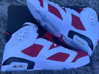 """Jordan Retro 6 """"Carmine"""" 2021 Size:12 for Sale in Guadalupe,  CA"""