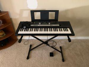 Piano keyboard for Sale in Ashburn, VA