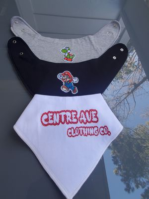 Centre Ave Boys Baby Bibs for Sale in Decatur, GA