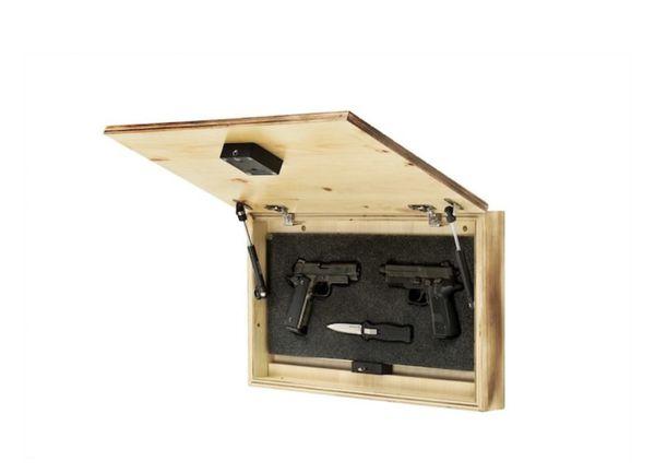 Flag gun hider