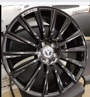 "Mercedes 20"" new amg style rims tires set for Sale in Hayward, CA"