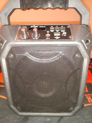 New, very LOUD bluetooth speaker and Karaoke machine. for Sale in Las Vegas, NV