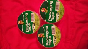 3 PACKS OF PACKAGING TAPE BRAND NEW! for Sale in Lancaster, CA